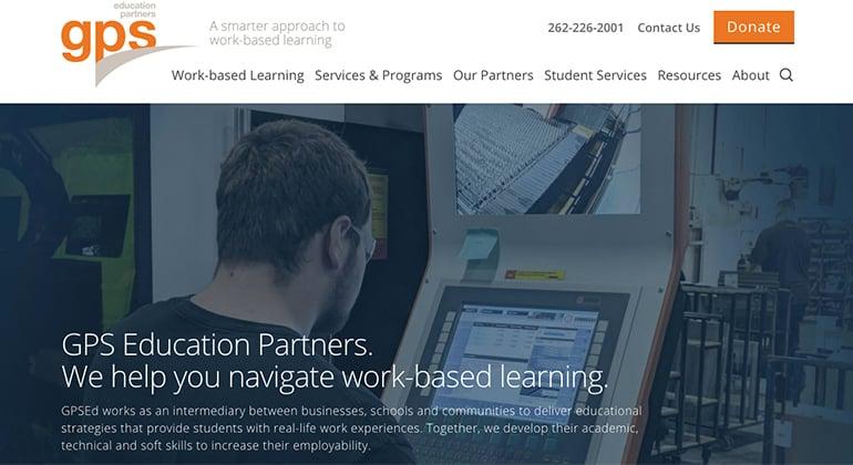 GPSEd website