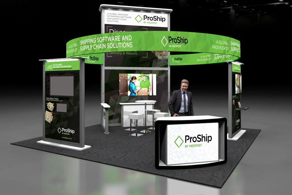 ProShip trade show graphics