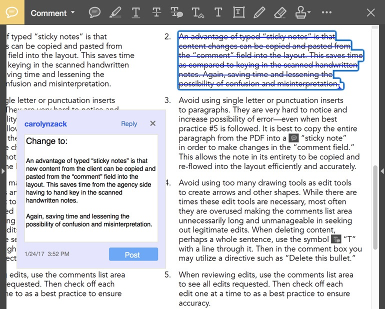 using the replace text tool to revise text in adobe acrobat pro