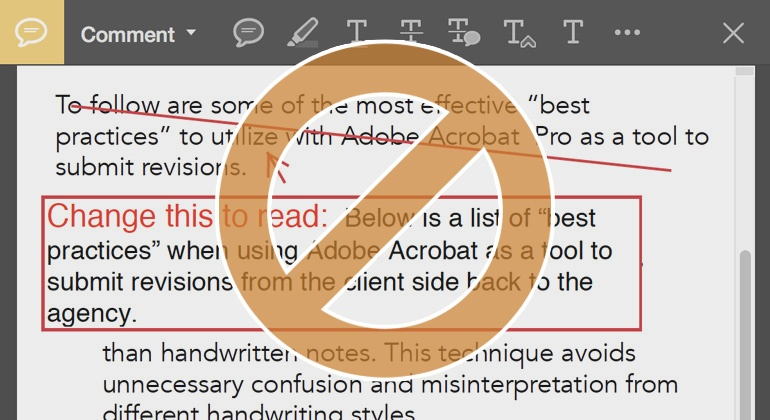 content revision using adobe acrobat pro