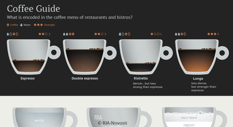 infographic coffee guide