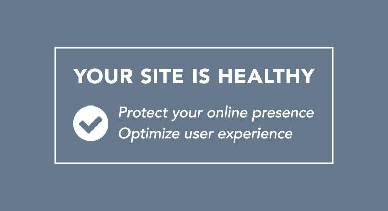 website maintenance benefits message box