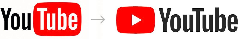 YouTube's new logo