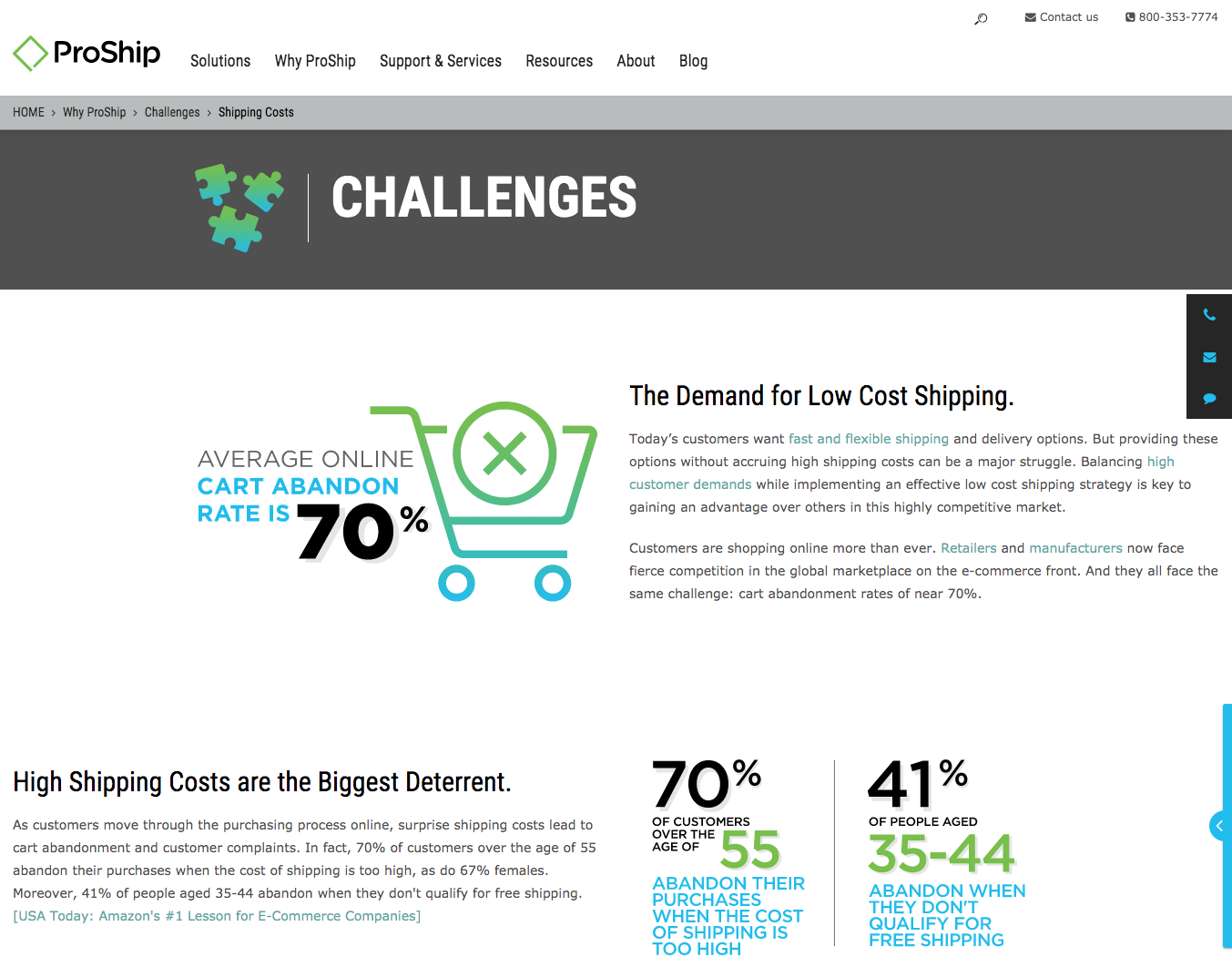 Pillar page Shipping Costs Challenges