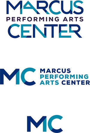 Marcus Performing Arts Center logos