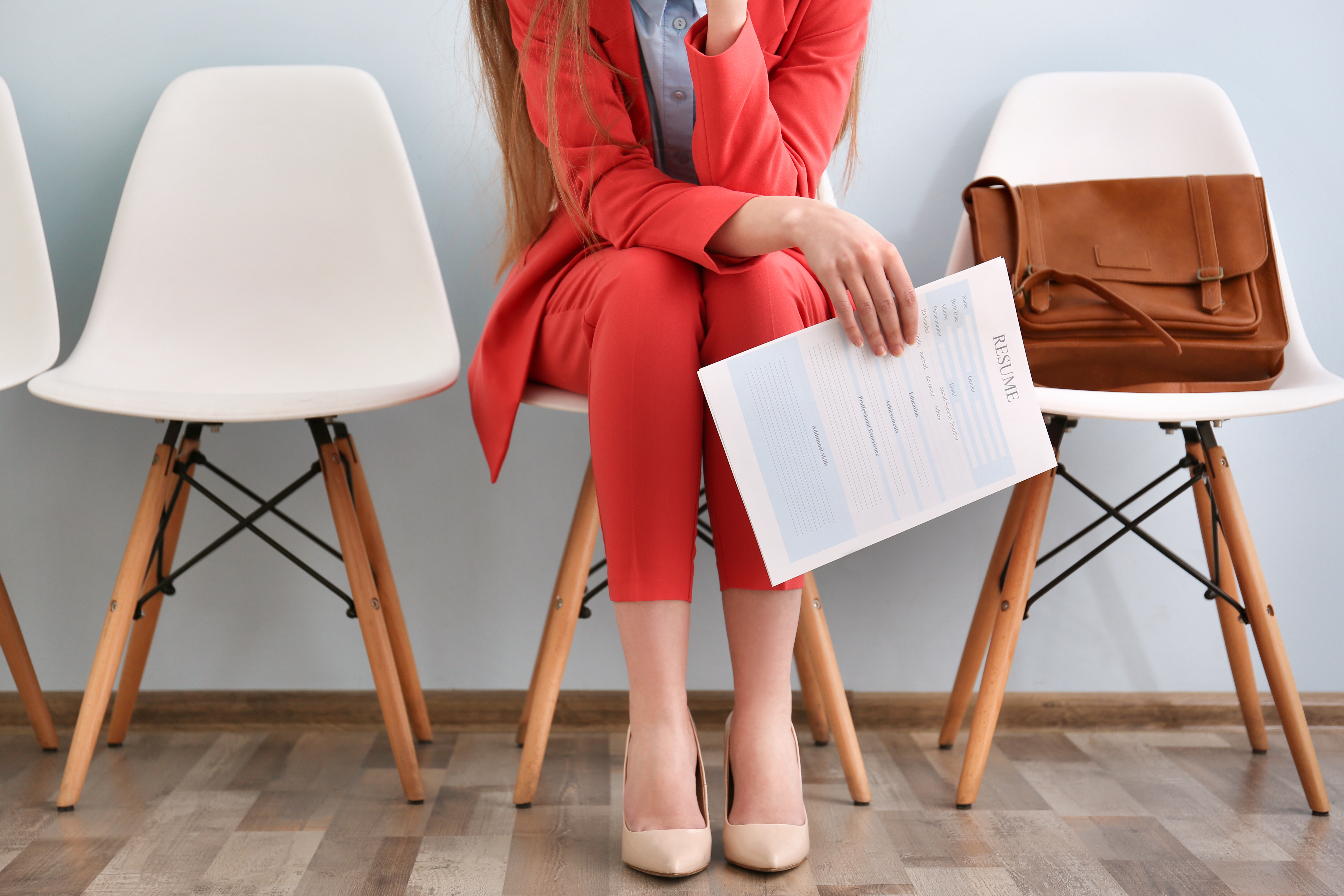 woman-waiting-for-interview